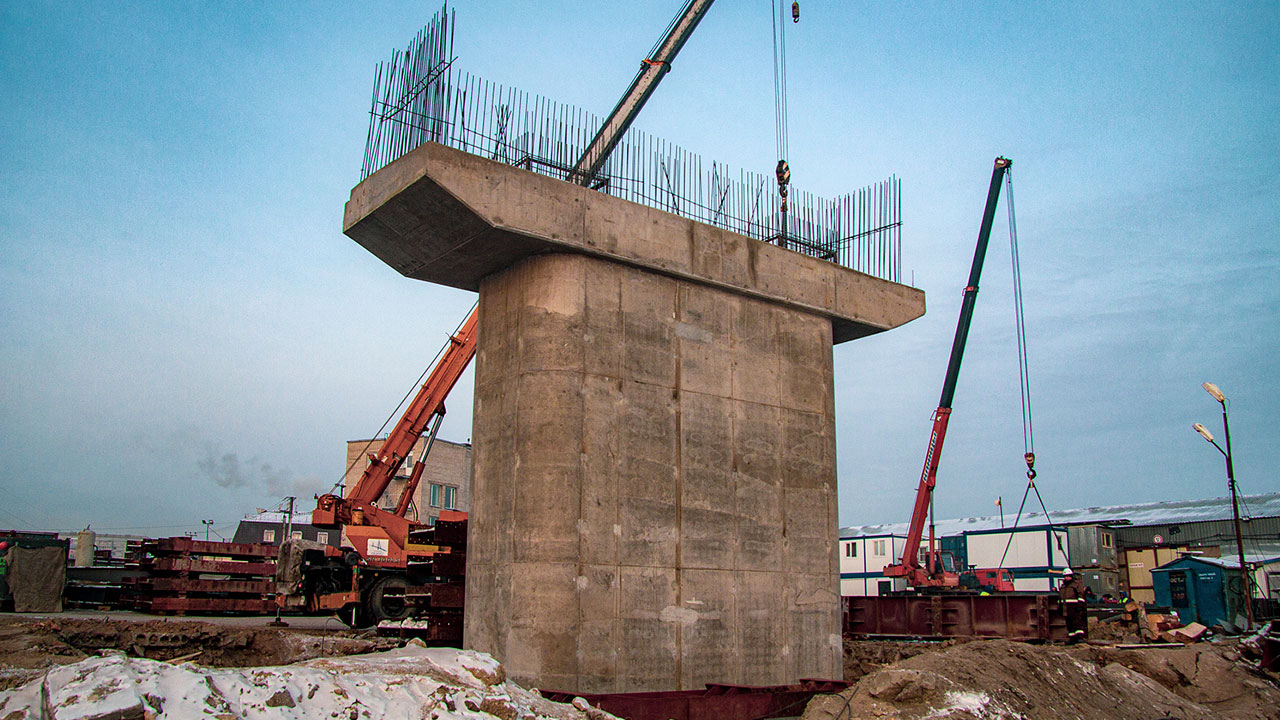 Ход строительства <nobr>на 25 января 2020 г</nobr>