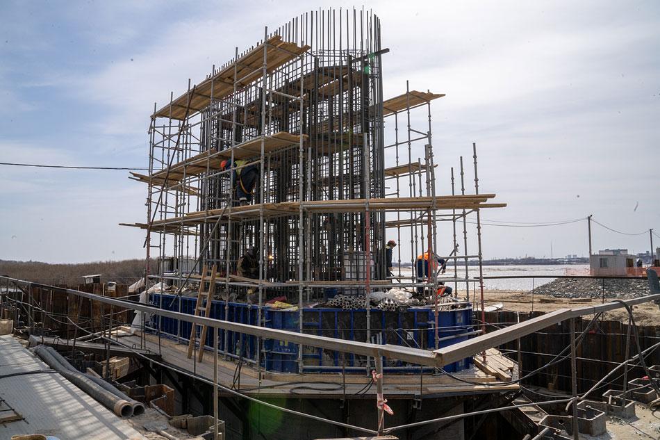 Ход строительства <nobr>на 30 апреля 2021 г</nobr>